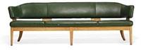 freestanding four seater sofa by kaj gottlob