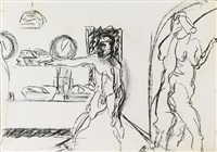 ohne titel (4 works) by norbert tadeusz