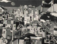 abstract view of san francisco by kenneth nack