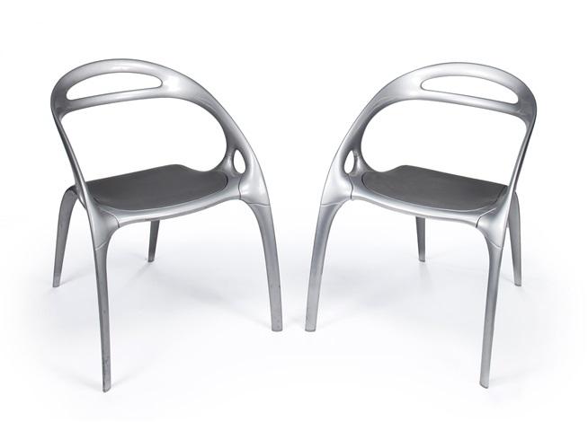 go chairs pair by ross lovegrove on artnet