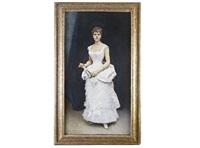 dama de blanco by raimundo de madrazo y garreta