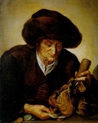 die geldzählerin by jacques des rousseaux