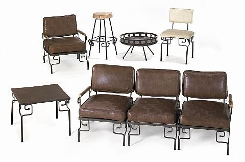 garden furniture set of 19 by ritts furniture company