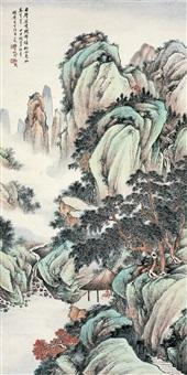 锦绣松风图 by xu xiaochun