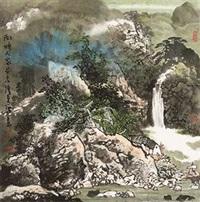 湖畔人家 by bai jingfu