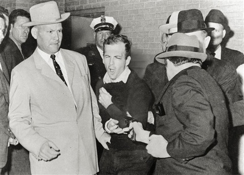 fired in anger lee harvey oswald is shot by jack ruby by robert h bob jackson