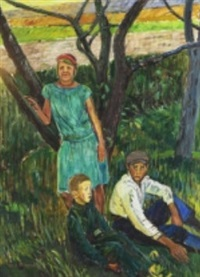 barn under träd by axel nilsson