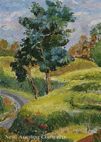 southern landscape by mary louise pegues dortch