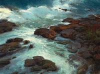 moonlit sea by brian blood