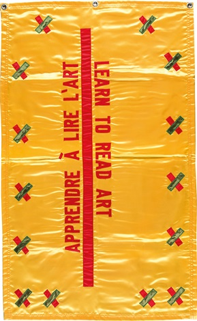 learn to read art appendre à lire lart by lawrence weiner