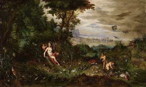 an allegory of water by jan brueghel the younger