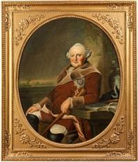 portrait des ferdinand von braunschweig-wolfenbüttel by johann georg ziesenis