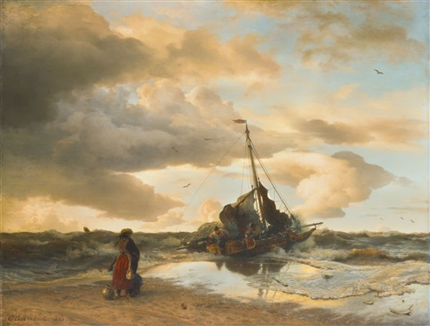 return of the fisherman by andreas achenbach
