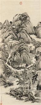 landscape by cao kuiyin