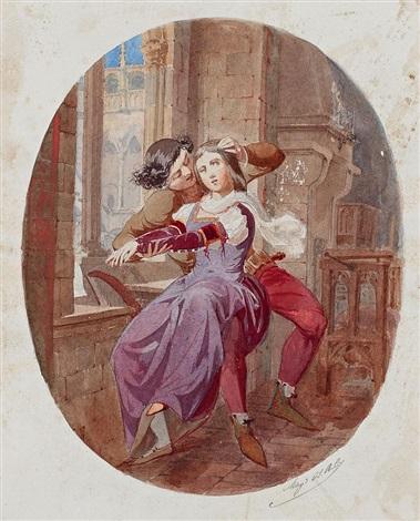 escena medieval by antonio caba y casamityana