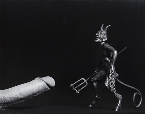 cock devil by robert mapplethorpe