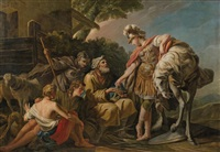 erminia and the shepherds by jean correge