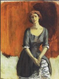 portrait of an uptown lady by leonard flettrich