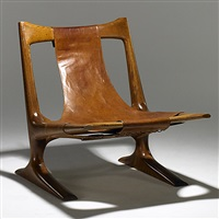 lounge chair by j. muckey