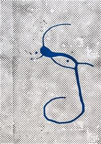ohne titel (griffelkunst 1988) by sigmar polke