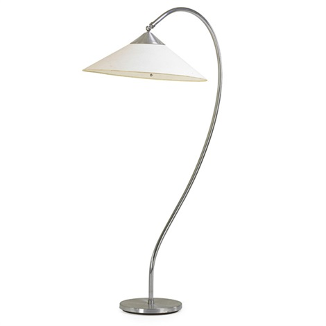 rare floor lamp by kurt versen