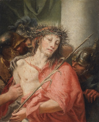ecce homo by giovanni domenico tiepolo