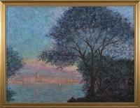 coastal cityscape by martin jewell
