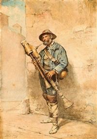 músico romano by modesto texidor y torres