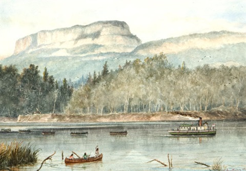wolseley expedition kaministiquia river june 5th 1870 by william wallace armstrong