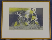illustrations for the hieroglyphics on the life of man by francis (3 works) by graham sutherland