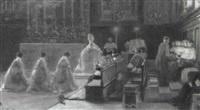 festliches hochamt in santa maria maggiore by julien renevier