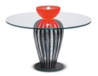 glastisch, modell sarah für memphis by andrea anastasio