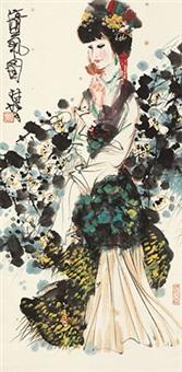 清气图 立轴 纸本 by lin yong
