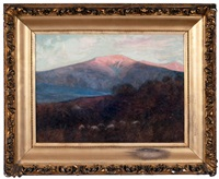 mount lafayette, franconia, new hampshire by daniel santry
