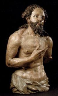christus einer taufgruppe by hans spindler