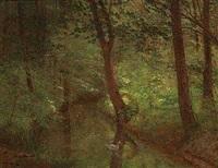 et lille vandlob i skoven by henrik benedikt olrik