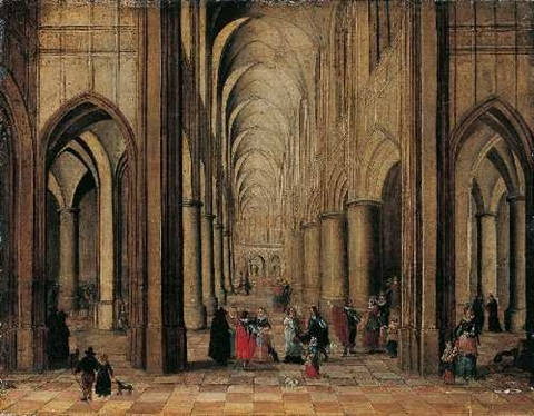 kircheninterieur by peeter neeffs the elder