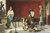 im alten pompeji by luigi crosio