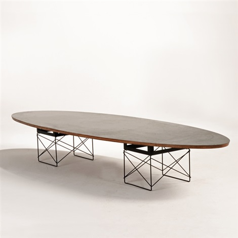 Eames Surfboard Coffee Table.Surfboard Coffee Table Model Etr By Charles And Ray Eames On Artnet