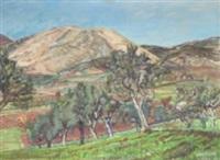italienskt landskap by axel nilsson