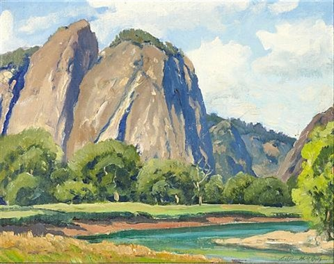 yosemite by arthur hill gilbert