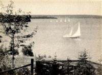 ohne titel (segelboote) by karl struss