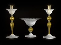 three-piece garniture set (set of 3) by pino signoretto