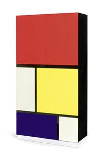schrank (model mondrian 2) by koni ochsner