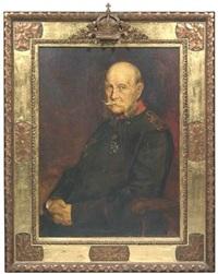 portrait kaiser wilhelm i by friedrich wilhelm kricheldorff