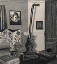 our living room, 1938 by gordena p. jackson