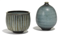 vase and bowl (set of 2) by harrison mcintosh