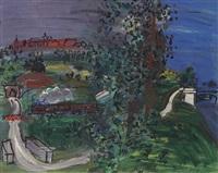 paysage de langres by raoul dufy