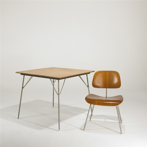 Terrific Dining Table And Chair Dtm Dcm 2 Works By Charles And Ray Pabps2019 Chair Design Images Pabps2019Com