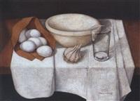 stillleben mit eiern by perea sanchez